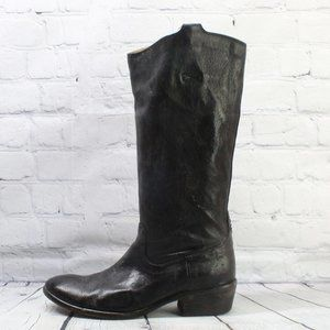 FRYE Genuine Leather Tall Riding Boots Size 9 B